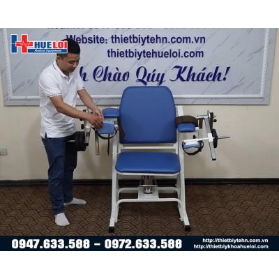 Dụng cụ tập cơ tay cho người bệnh dạng ghế ngồi