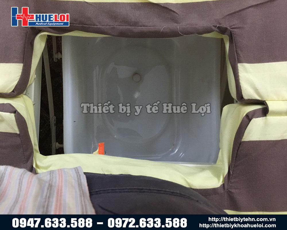 giường y tế vệ sinh tại chỗ